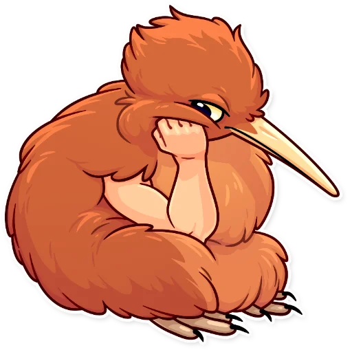 Birds with Arms - Sticker 14