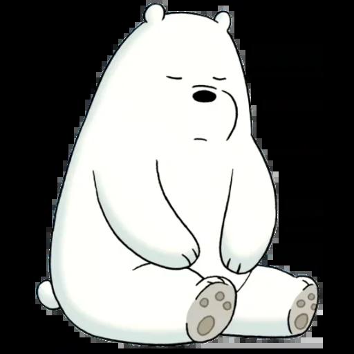 Ice Bear - Sticker 12