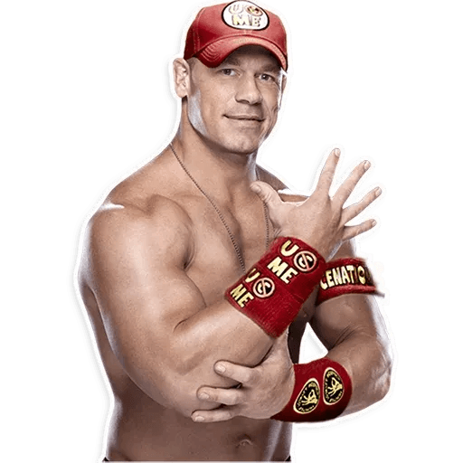 John Cena - Tray Sticker