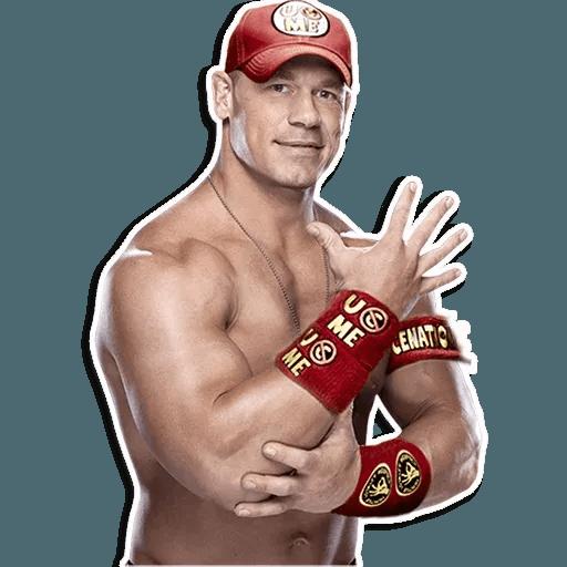 John Cena - Tray Sticker