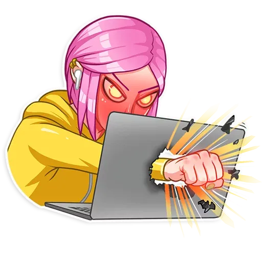 Internet Addiction - Sticker 16
