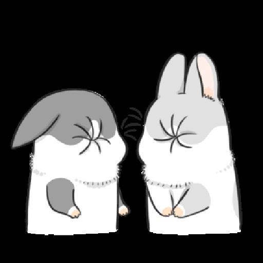 ㄇㄚˊ幾兔9 打人 驚 - Sticker 9