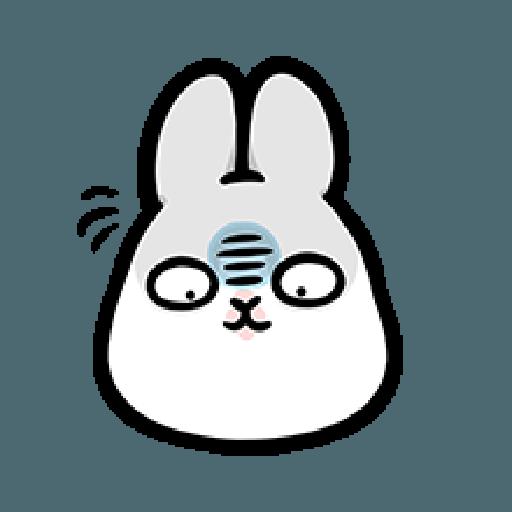 ㄇㄚˊ幾兔9 打人 驚 - Sticker 18