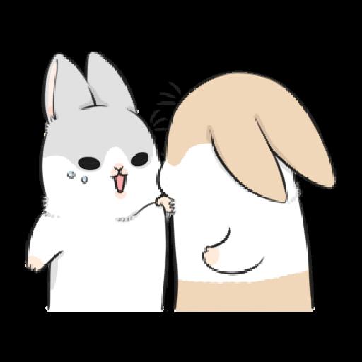 ㄇㄚˊ幾兔9 打人 驚 - Sticker 8