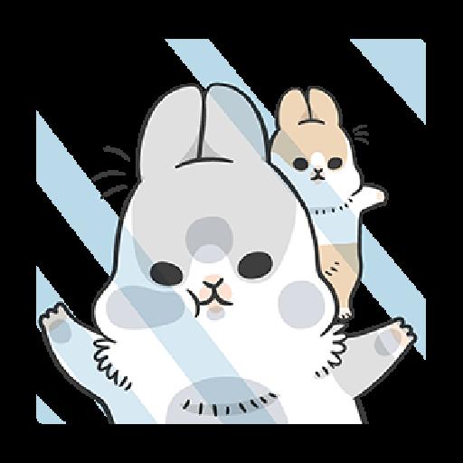 ㄇㄚˊ幾兔9 打人 驚 - Sticker 14