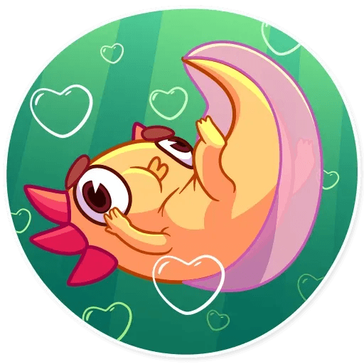 Mexican Axolotl - Sticker 27
