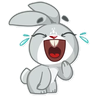 Bunny1 - Tray Sticker