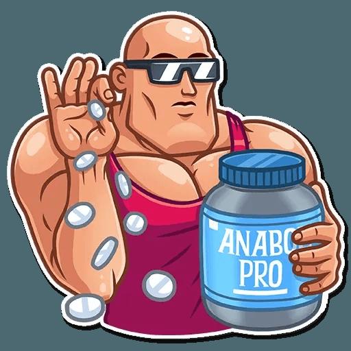 Bodybuilder - Sticker 7