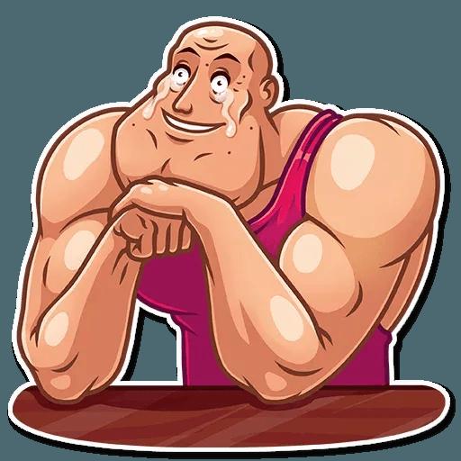 Bodybuilder - Sticker 11
