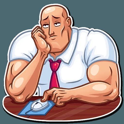 Bodybuilder - Sticker 10