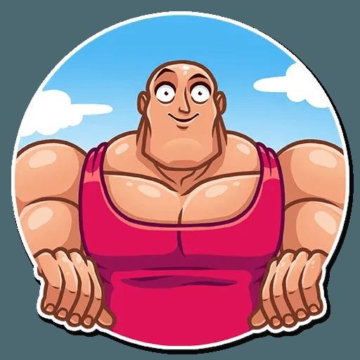 Bodybuilder - Sticker 9