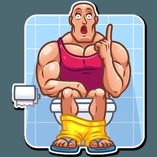 Bodybuilder - Sticker 23