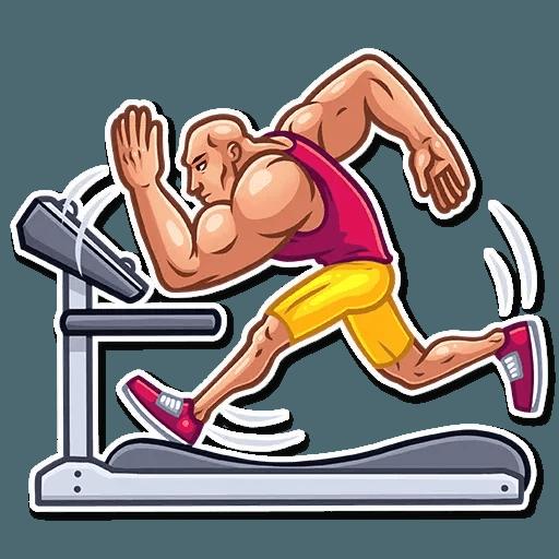 Bodybuilder - Sticker 28