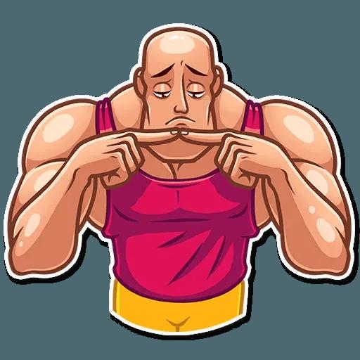 Bodybuilder - Sticker 18