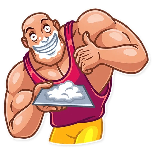 Bodybuilder - Sticker 3
