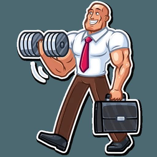 Bodybuilder - Sticker 8