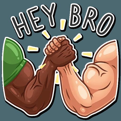 Bodybuilder - Sticker 5