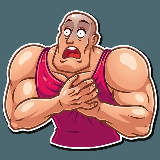 Bodybuilder - Sticker 4