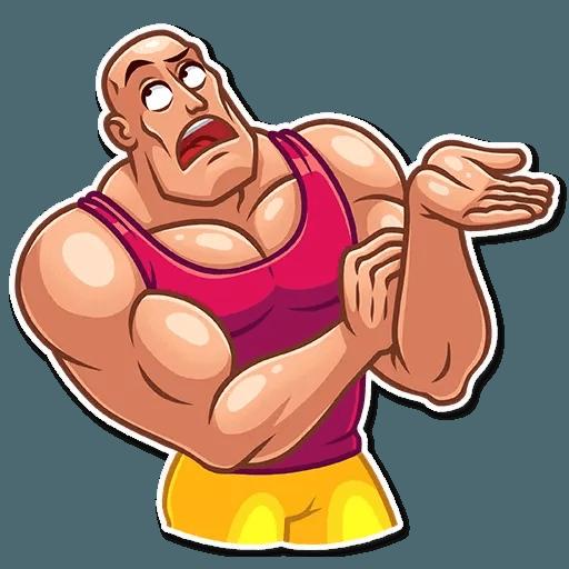 Bodybuilder - Sticker 24