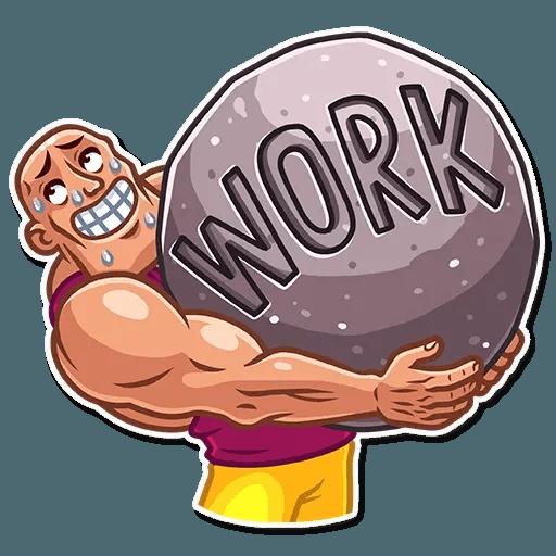 Bodybuilder - Sticker 30