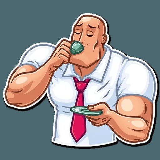 Bodybuilder - Sticker 15