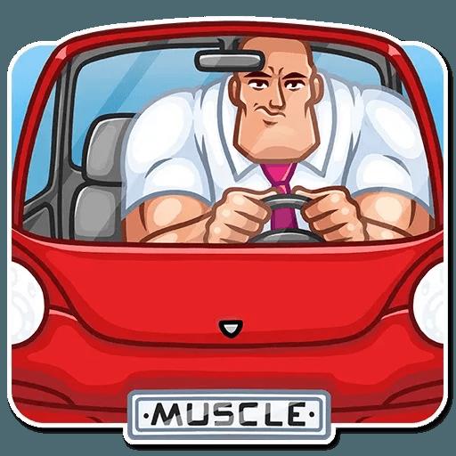 Bodybuilder - Sticker 19