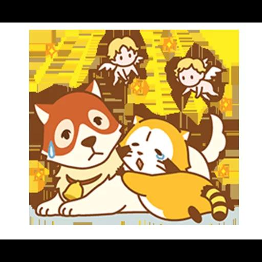 Happy Raccoon Love - Sticker 23