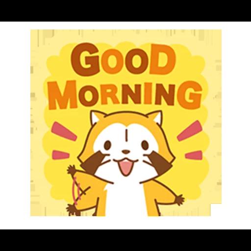 Happy Raccoon Love - Sticker 21