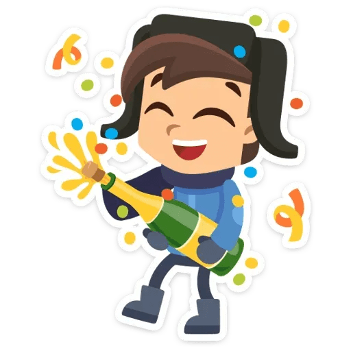 New Year 2019 - Sticker 3