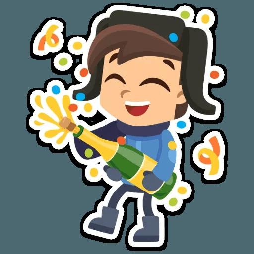 New Year 2019 - Sticker 3