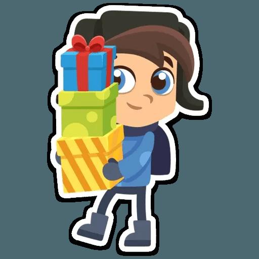 New Year 2019 - Sticker 14