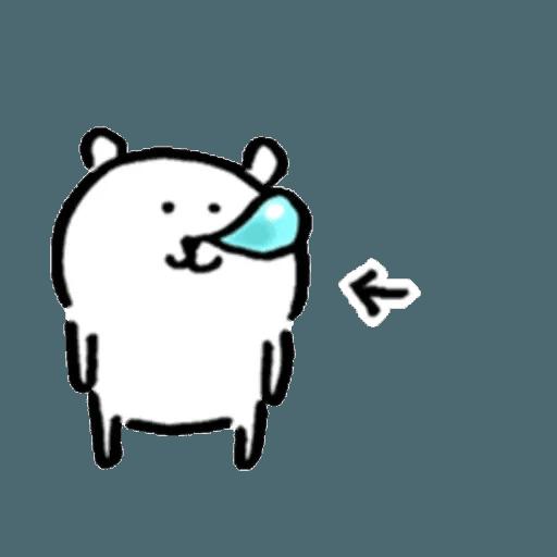 白熊2 - Sticker 23