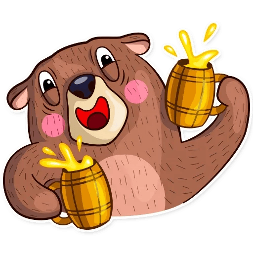 Honey Bear - Sticker 12