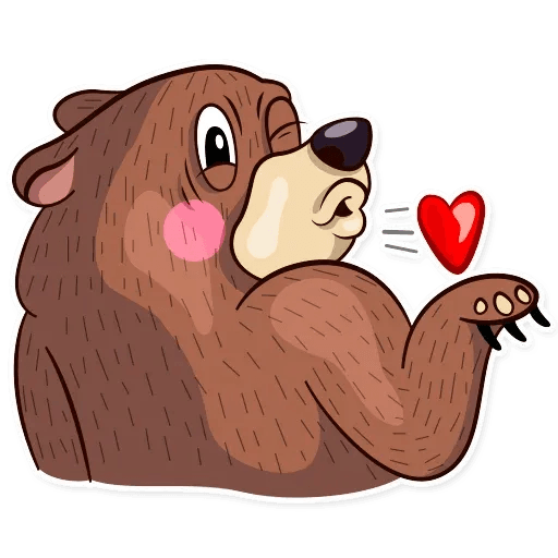 Honey Bear - Sticker 2