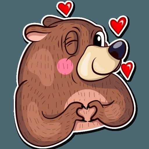 Honey Bear - Sticker 22