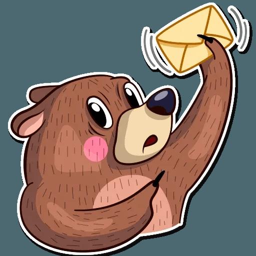 Honey Bear - Sticker 21