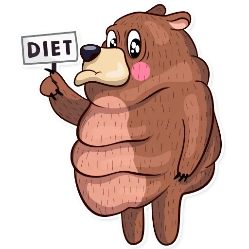 Honey Bear - Sticker 25