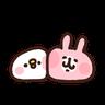 P助兔兔表情貼 2 - Tray Sticker