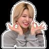 定延 - Tray Sticker