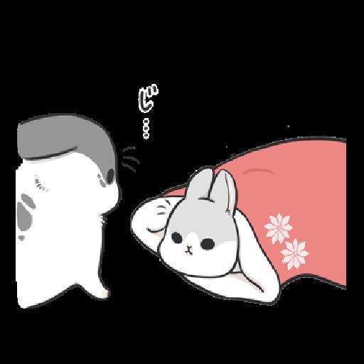 ㄇㄚˊ幾兔10 Love,呵返 - Sticker 11