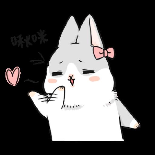 ㄇㄚˊ幾兔10 Love,呵返 - Sticker 13