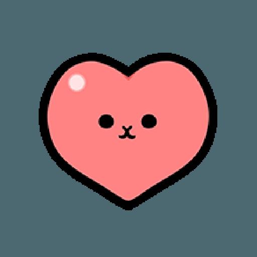 ㄇㄚˊ幾兔10 Love,呵返 - Tray Sticker