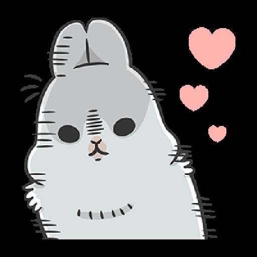 ㄇㄚˊ幾兔10 Love,呵返 - Sticker 3