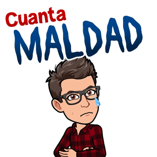 Sadness BitMoji - Sticker 27