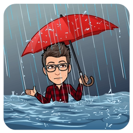 Sadness BitMoji - Sticker 26
