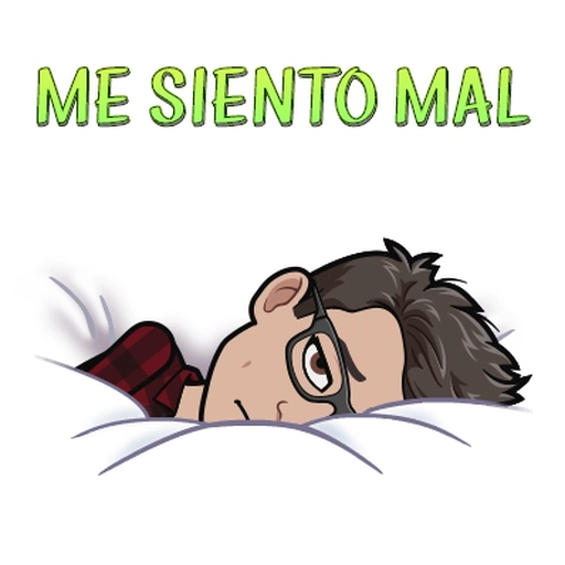 Sadness BitMoji - Sticker 6