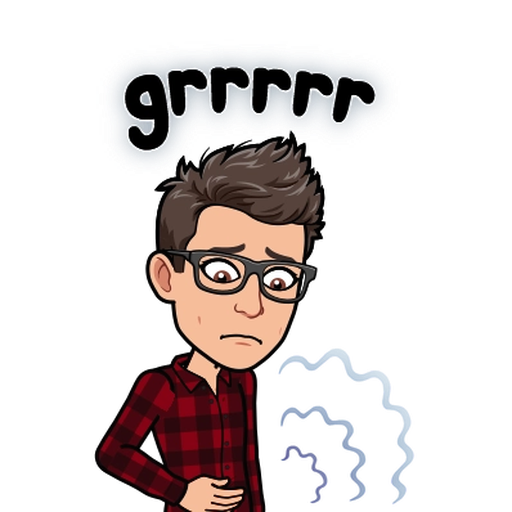 Sadness BitMoji - Sticker 15