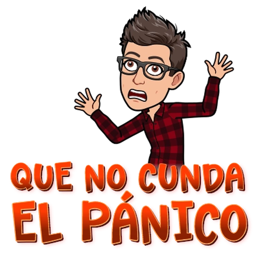 Sadness BitMoji - Sticker 28