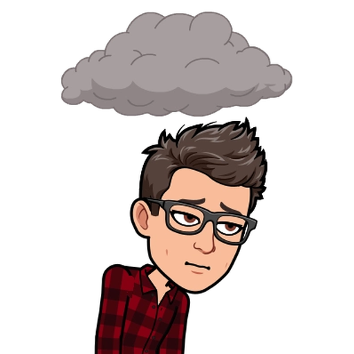 Sadness BitMoji - Sticker 8
