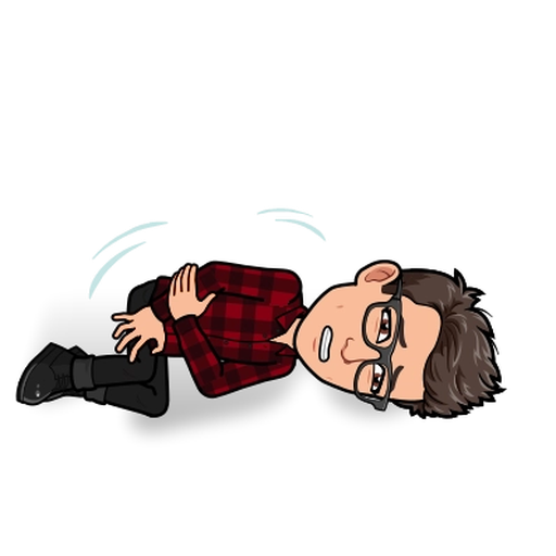 Sadness BitMoji - Sticker 7